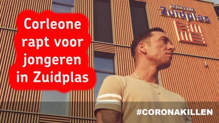Corleone (The Voice) rapt voor jongeren in Zuidplas