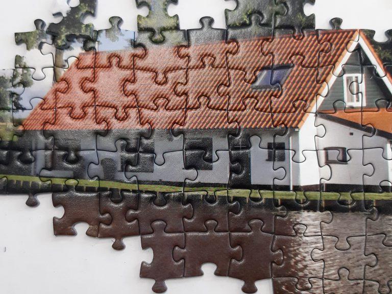 Snelle Sluis Moordrecht in legpuzzel verkrijgbaar bij flyingeagle.nl