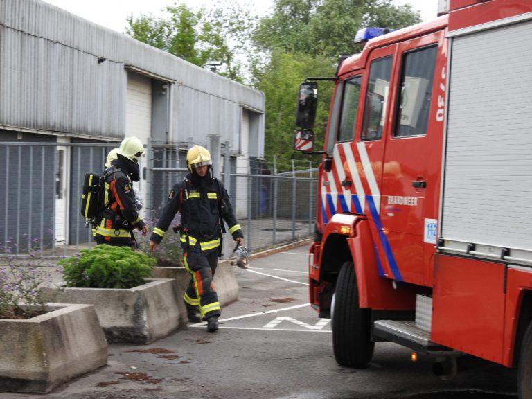 Brandweer rukt uit voor gebouwbrand maar blijkt vuurkorf