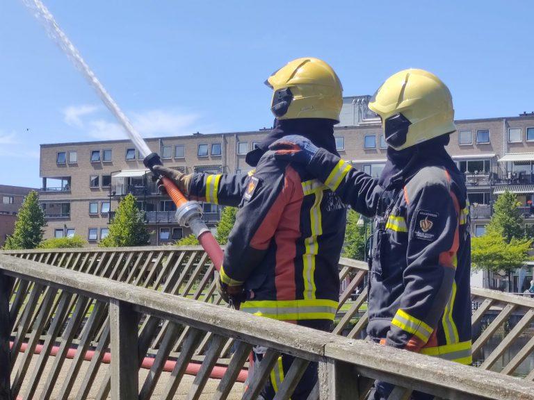 Brandweer herdenkt collega's die zijn omgekomen tijdens hun werk