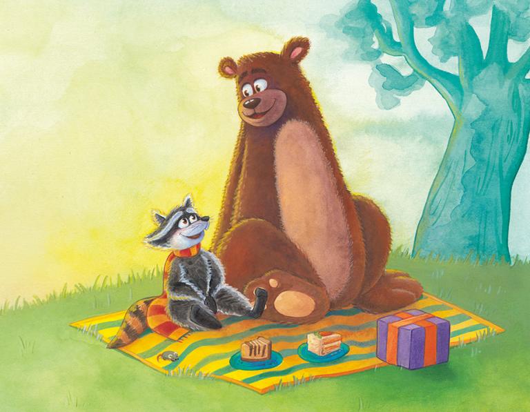 Madelon Koelinga brengt prentenboek 'Een berenleuk feestje' uit