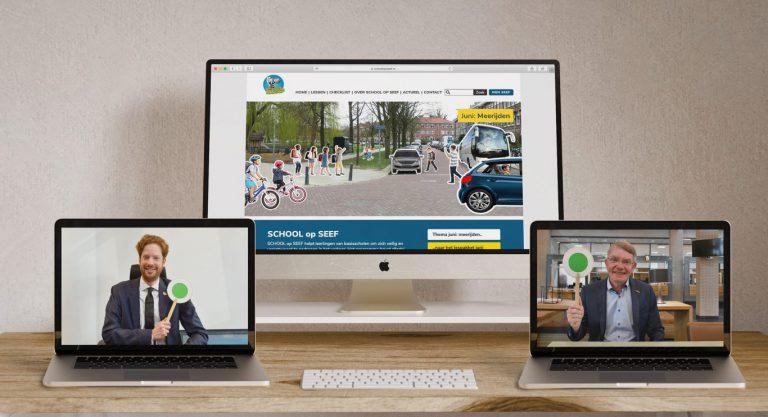 Vernieuwde website SCHOOL op SEEF nog beter geschikt voor basisscholen in  Zuid Holland
