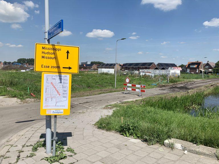 Ombouw Bermweg naar fietsstraat/fietspad