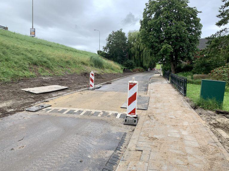 Volgend deel Oosteinde naar fietsstraat