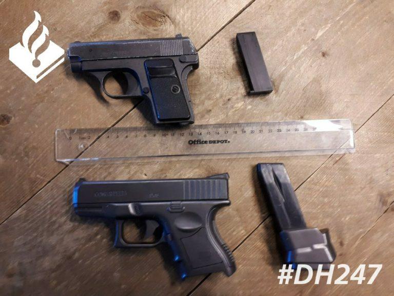 Nepwapens aangetroffen bij aanhouding na bedreiging Zevenhuizen