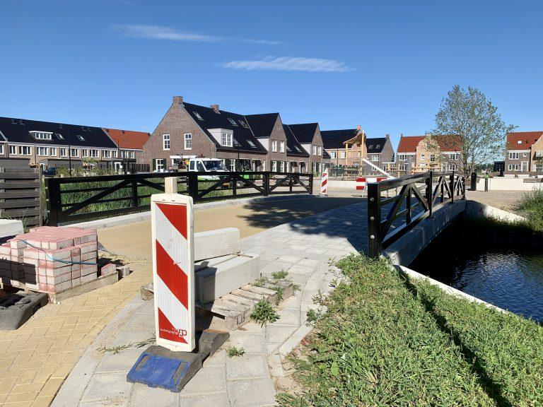 Brug Weidezoom-De Brinkhorst nog niet geopend
