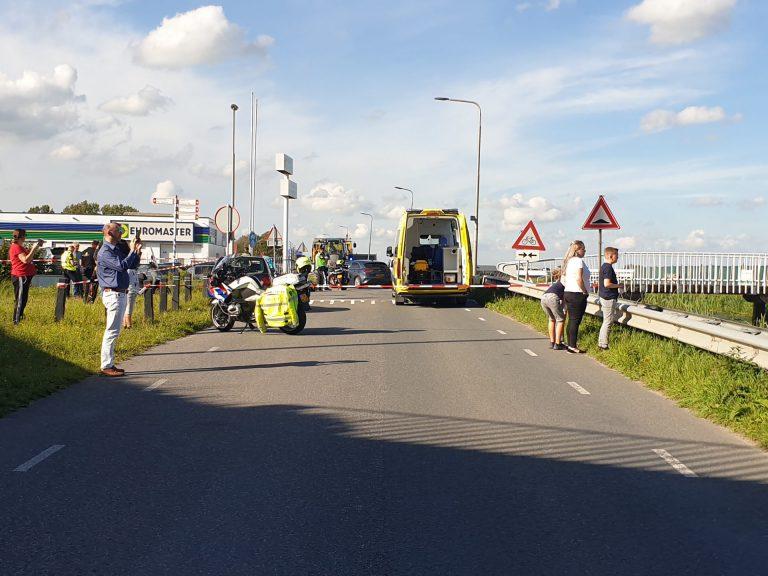 Ongeval Noordeinde bij A12 – Scooter geschept door auto vanaf Zevenhuizen