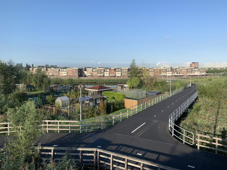 Fietsbrug Gouda – Oost Ringdijk