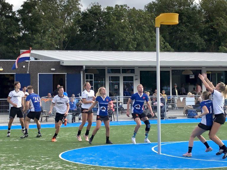 CKV Nieuwerkerk schittert in Voorburg en wint met 8-29