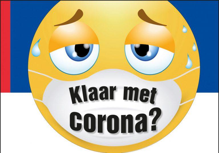 """Campagne Zuidplas van start """"Klaar met corona? Corona niet met ons. Houd je aan de maatregelen!'"""