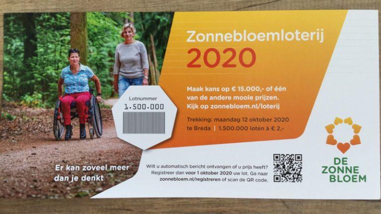 Zonnebloem Nieuwerkerk verkoopt veel loten