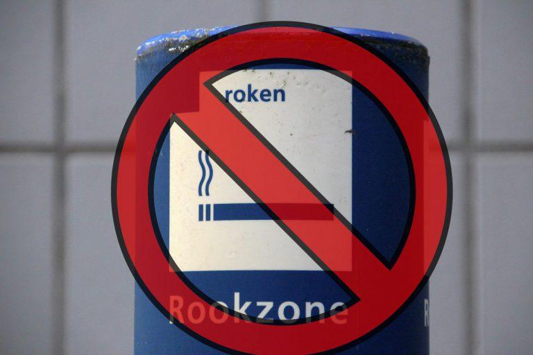 Roken niet meer toegestaan op NS stations en perrons