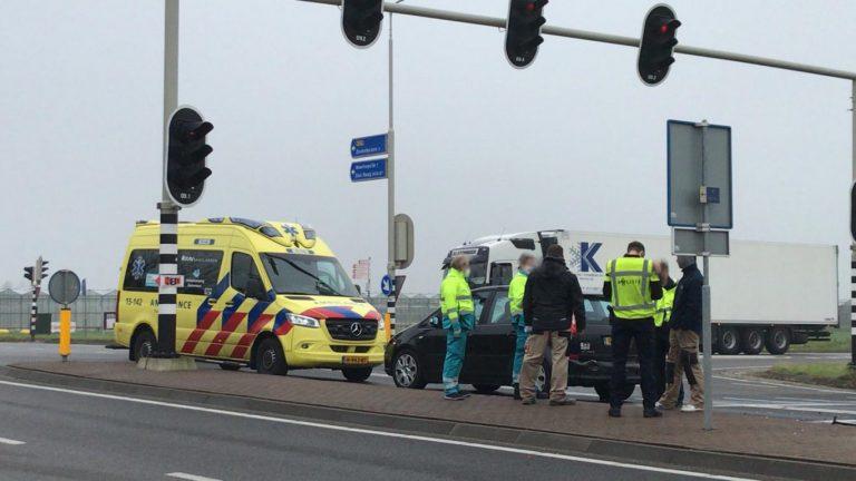 Aanrijding 1e Tochtweg (N219) Nieuwerkerk