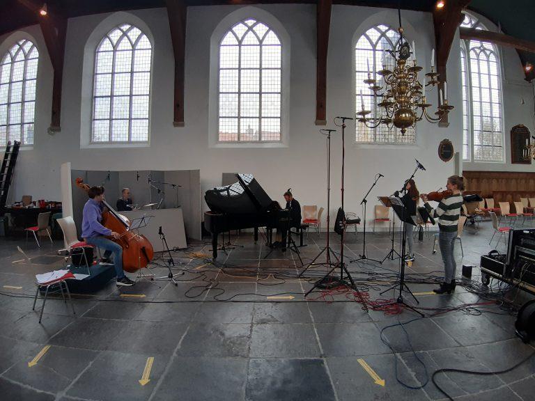 CD opname Flying Eagle Concert t.g.v. 10 jaar gemeente Zuidplas, Dorpskerk Moordrecht 2 november 2020