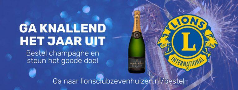 Champagne campagne: knallend het jaar uit!