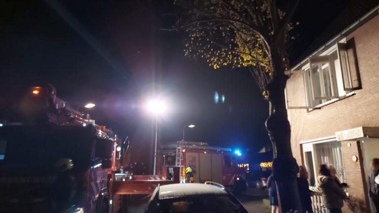 Brand in ventilatie van woning aan het Zwanendaal in Nieuwerkerk