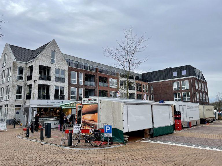 Weekmarkt op centrumplein ZVH