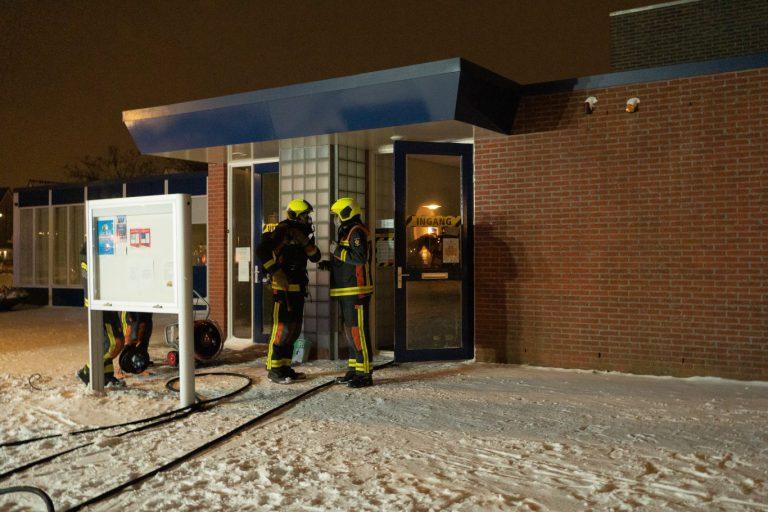 Meterkast brand in dorpshuis Op Moer