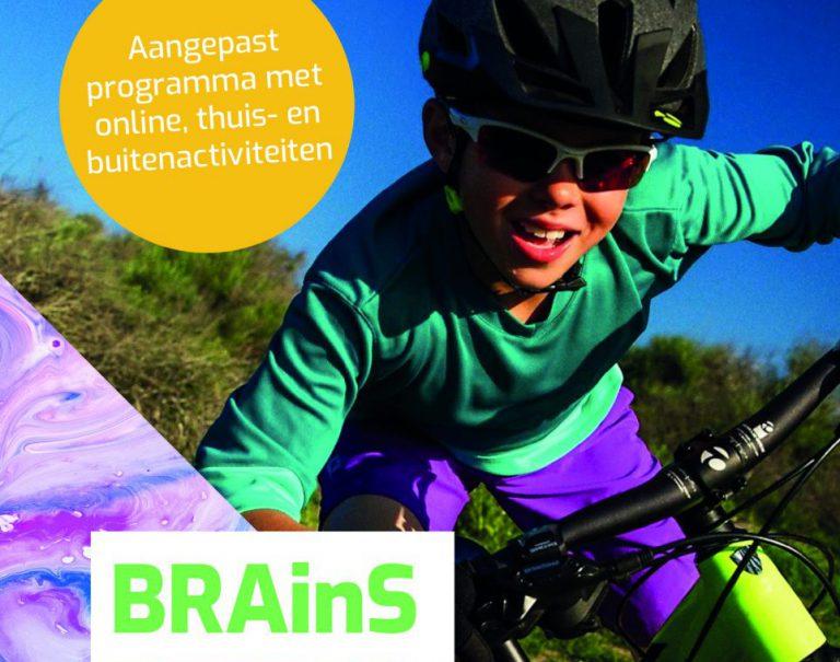 Aangepast BRAinS programma met diverse online, thuis en buitenactiviteiten