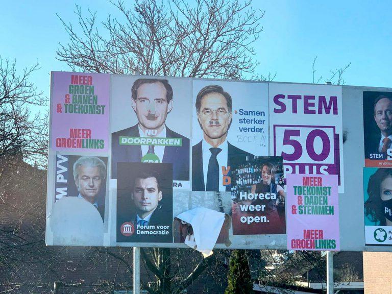 VVD Zuidplas : breng verkiezingborden naar het oud ijzer