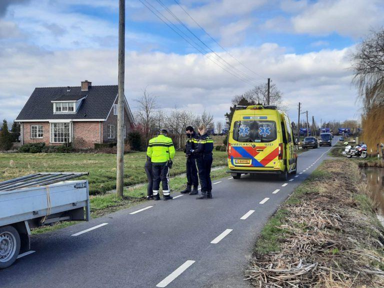 Voetgangster gewond bij aanrijding op de Spoorweglaan in Moordrecht