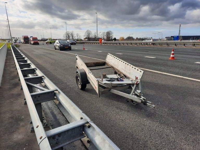 Complex ongeval op A12 zorgt voor flinke vertragingen