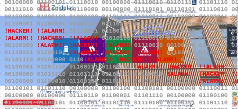 Cyber aanvallen op provider legt sites van gemeenten Zuidplas, Gouda en Capelle tijdelijk plat