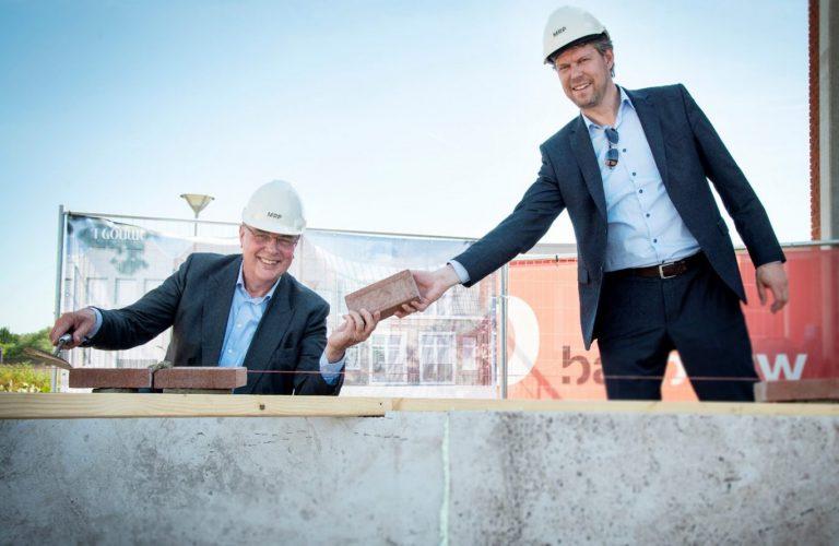 Start bouw van 't Gouwe in Waddinxveen als laatste fase Gouweplein