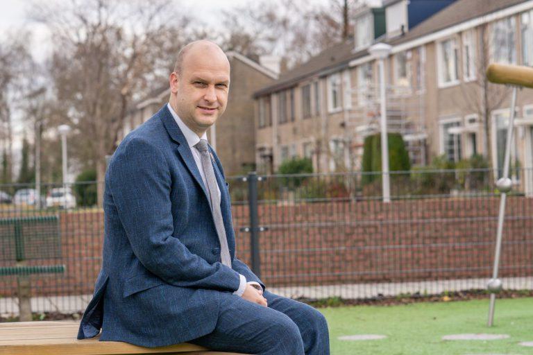 Jan Willem Schuurman lijsttrekker ChristenUnie/SGP Zuidplas bij gemeenteraadsverkiezingen 2022