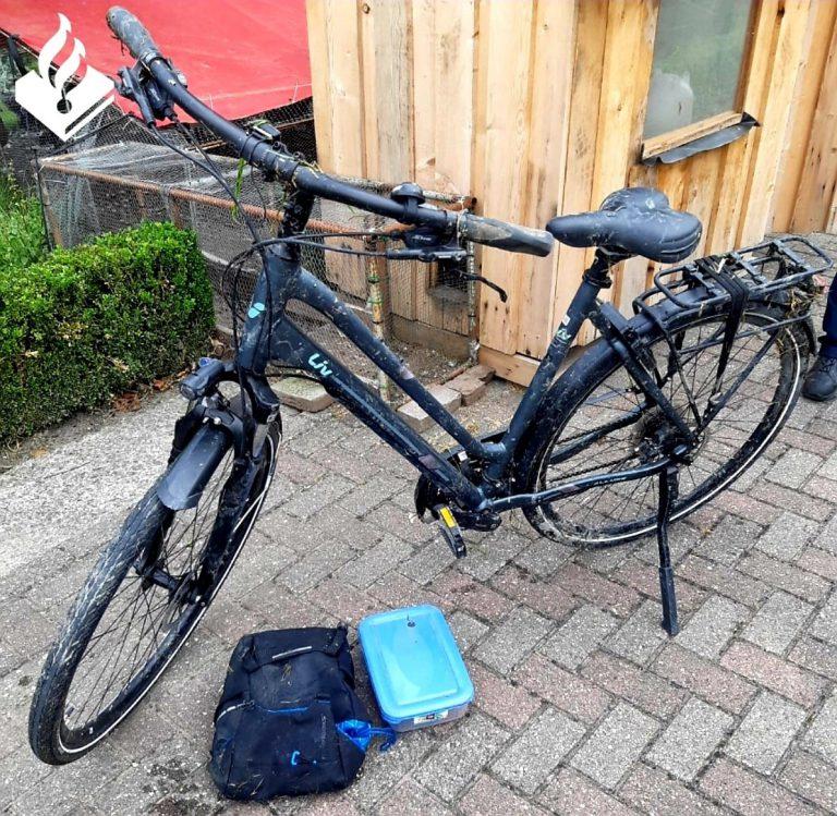 Hulpdiensten rukken uit voor persoon te water in Moerkapelle- eigenaar fiets gezocht