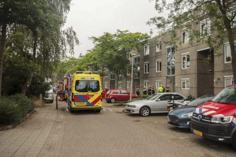 Kleine binnenbrand bij verwarde vrouw in Nieuwerkerk