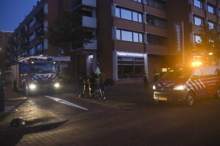 Vuurwerk mogelijk oorzaak brandmelding winkel in Nieuwerkerk
