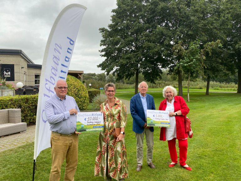 Goede doelen golfweek Golfbaan Hitland brengt recordbedrag van 35.000 euro op