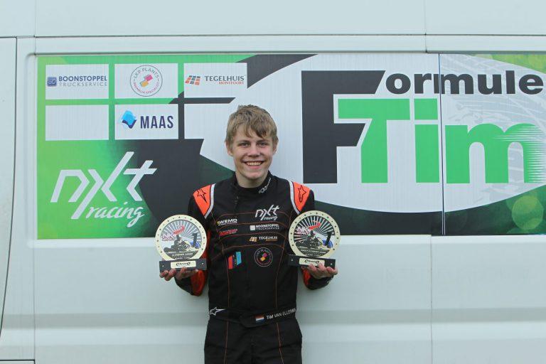 Winst voor snelle Waddinxvener Tim van Elleswijk (13) bij NK karting