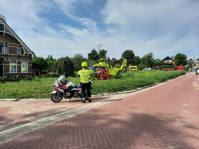 Vrouw loopt ernstige hoofdwond op bij val met fiets in Zevenhuizen – update