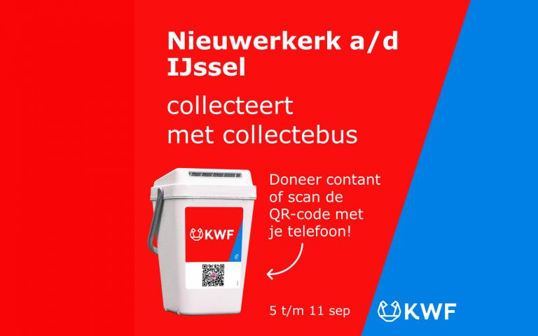 KWF Kankerbestrijding collecteert 5 tot en met 11 september in Nieuwerkerk aan den IJssel