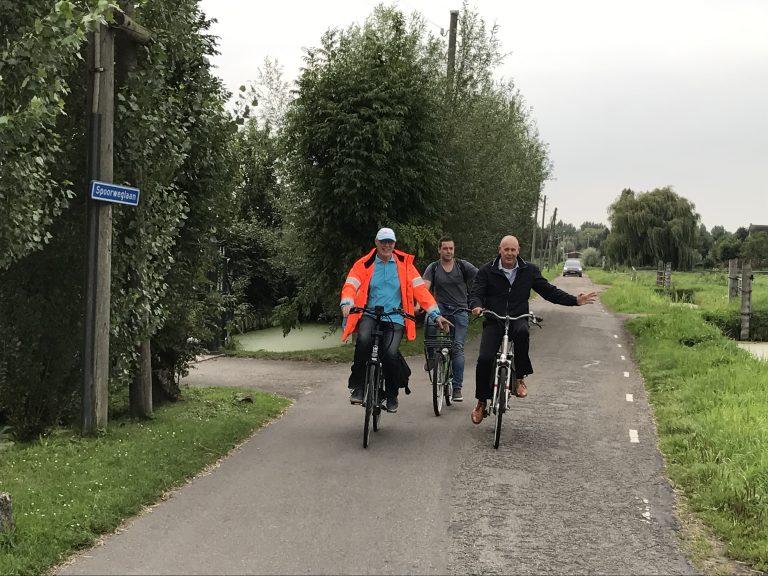 Veilig Verkeer Nederland Zuidplas bezoekt Moordrecht met wethouder