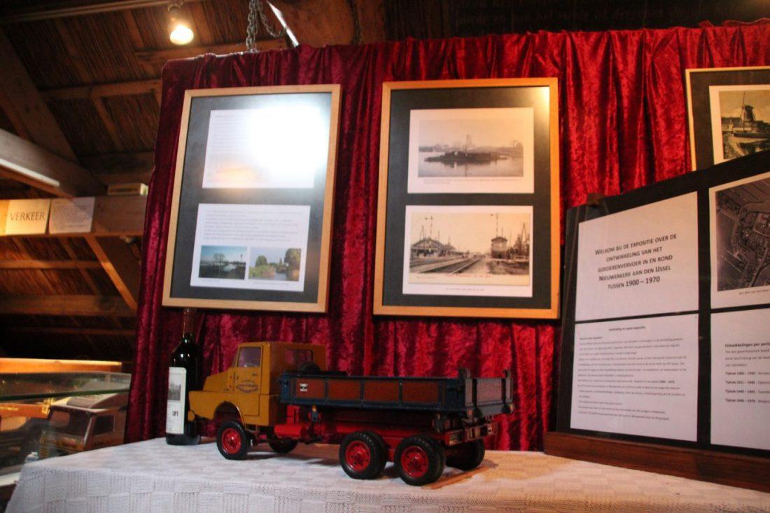 expositie transport in Oudheidskamer Nieuwerkerk