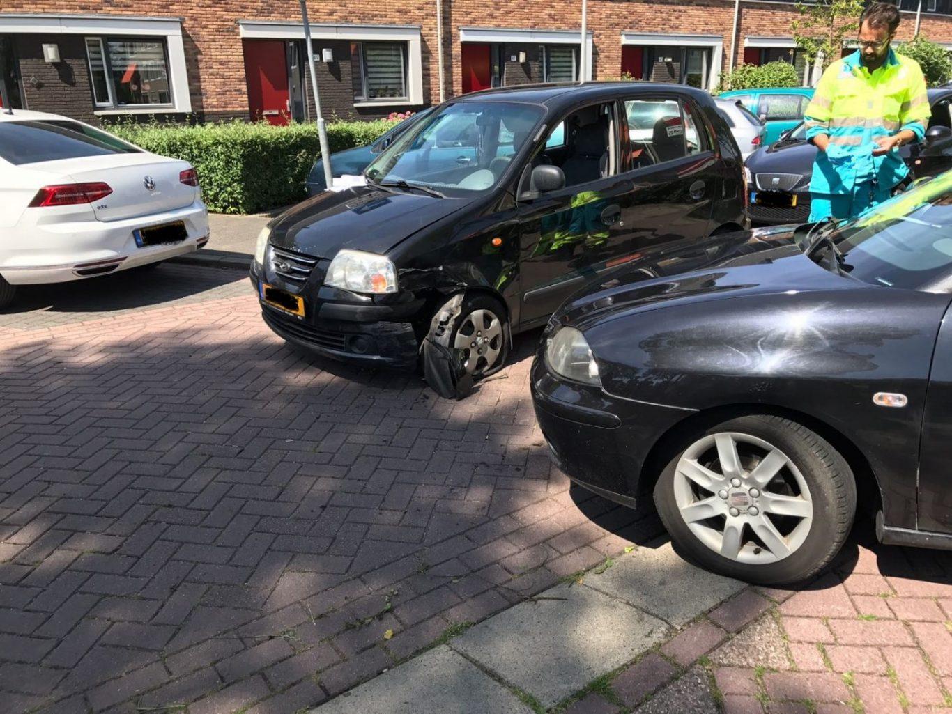 Ongeval Beethovenlaan Nieuwerkerk