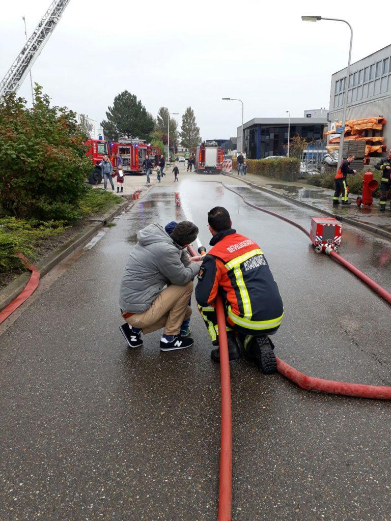 Veel belangstelling voor open dag brandweer Moordrecht