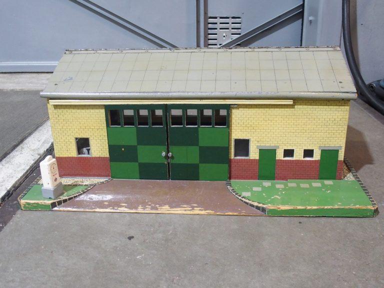 Ook garagemodel (Boer Kerklaan) in transportexpo Oudheidkamer