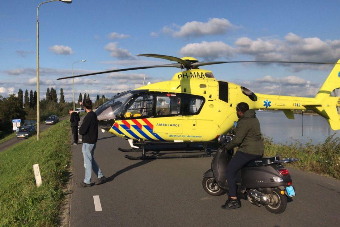 Traumahelikopter Moordrecht