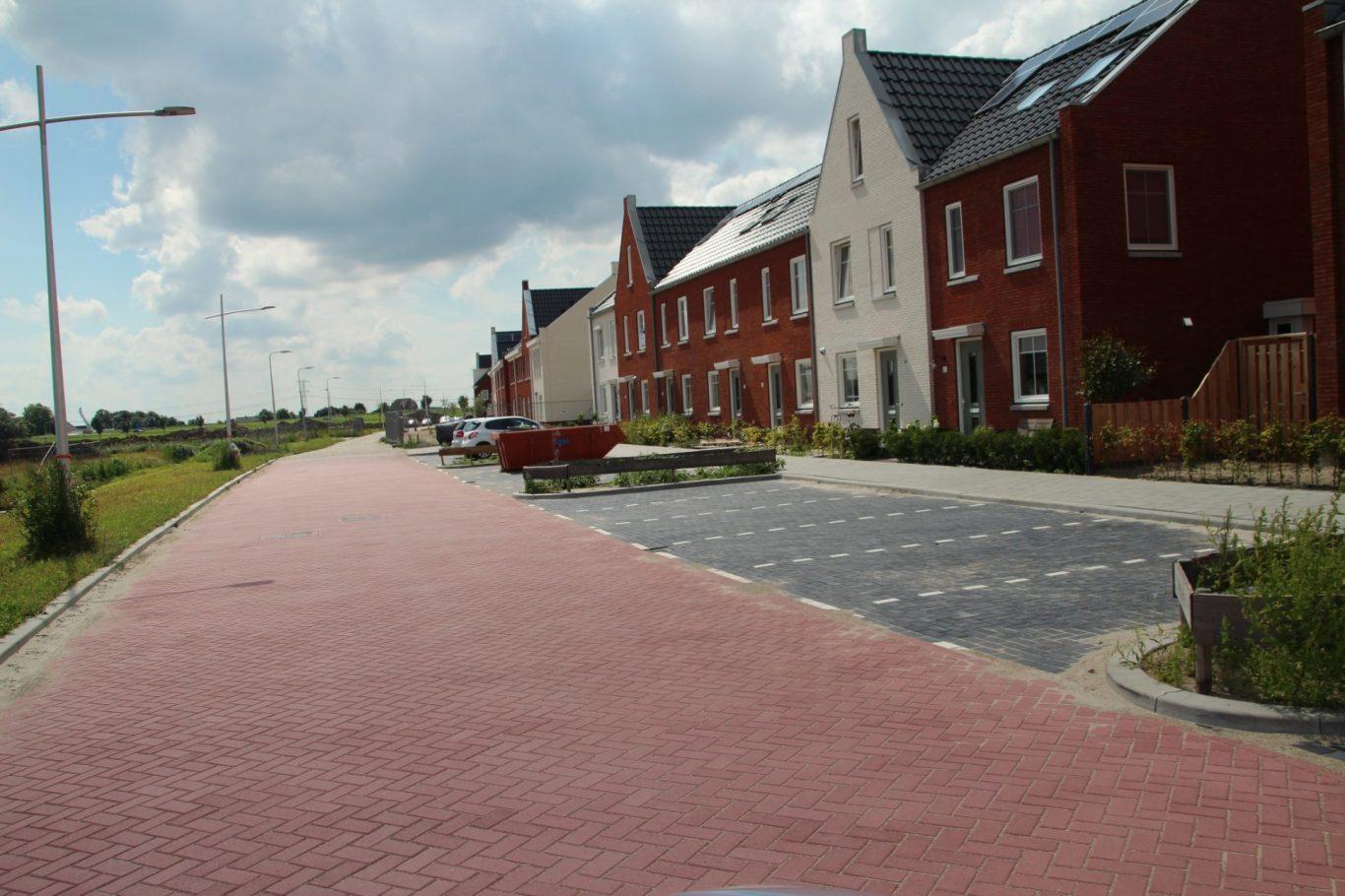 Nieuwbouw aan de rand van Zevenhuizen