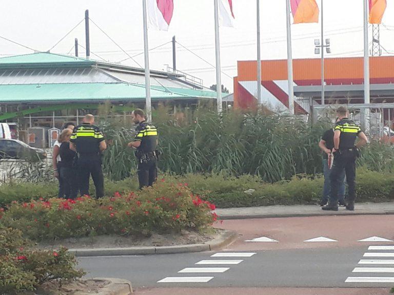 Bewoners achtervolgen twee toeristen in Nieuwerkerk