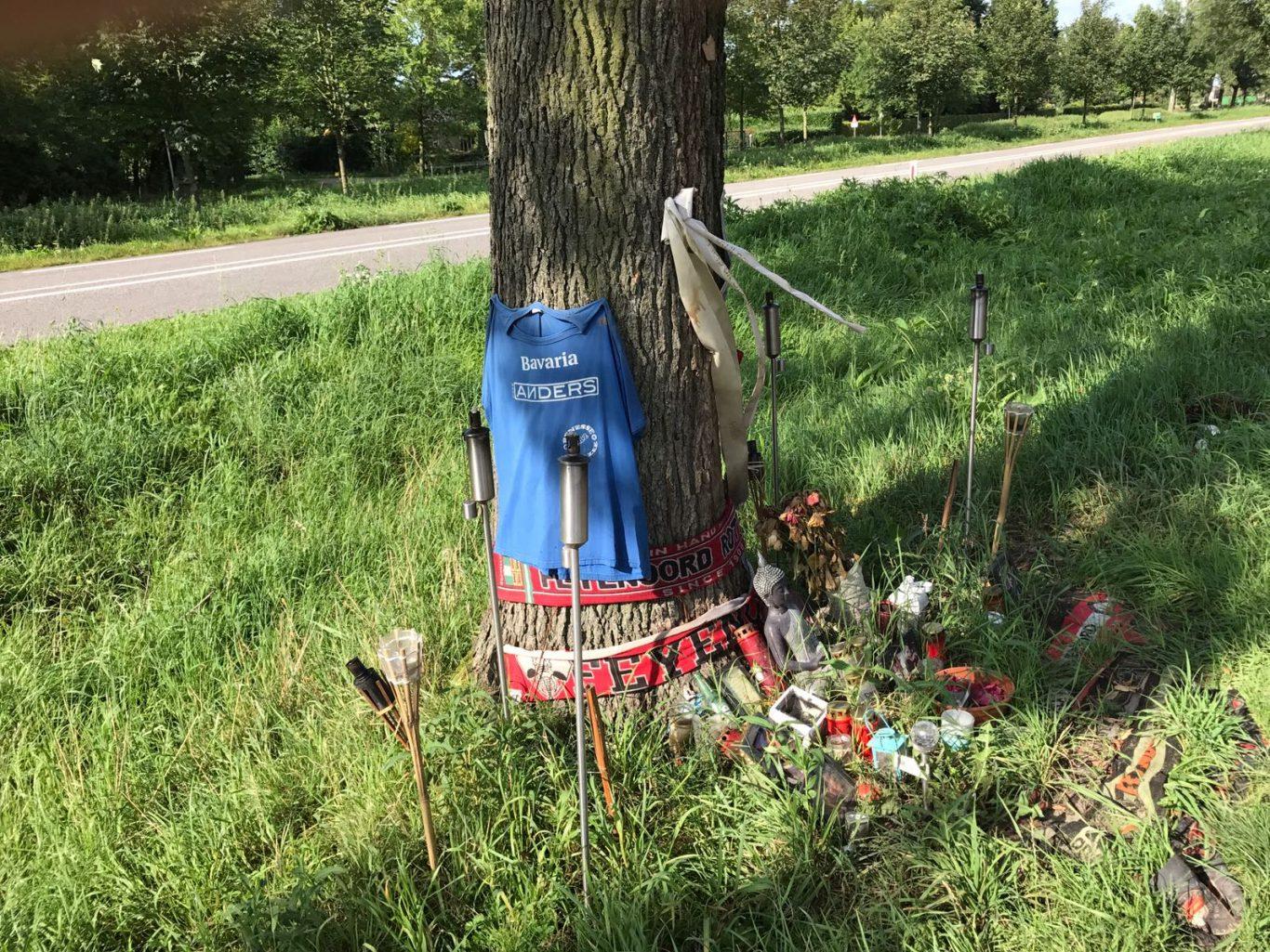 Gedenkplaats ongeval n453