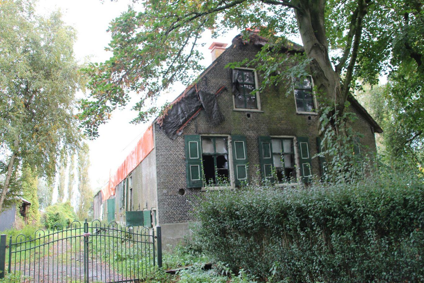 Geertruidahoeve Nieuwerkerk vervallen Rijksmonument