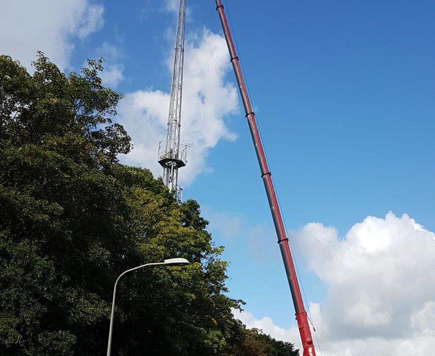 sloop mast Nieuwerkerk