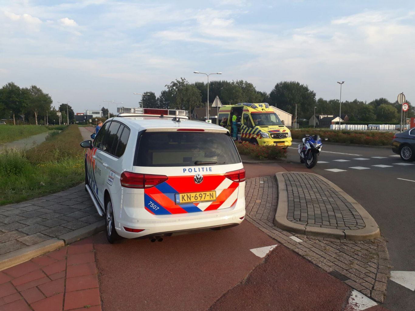 ongeval 22 augustus 2017 Nieuwerkerk