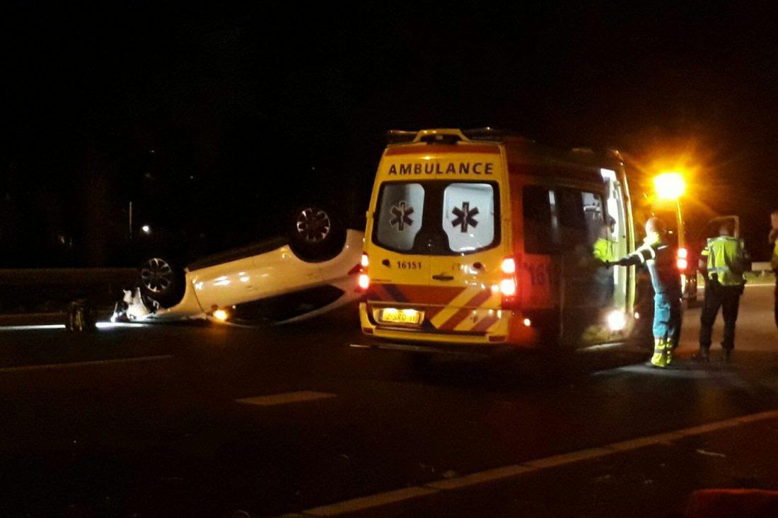 A20 Nieuwerkerk ongeval