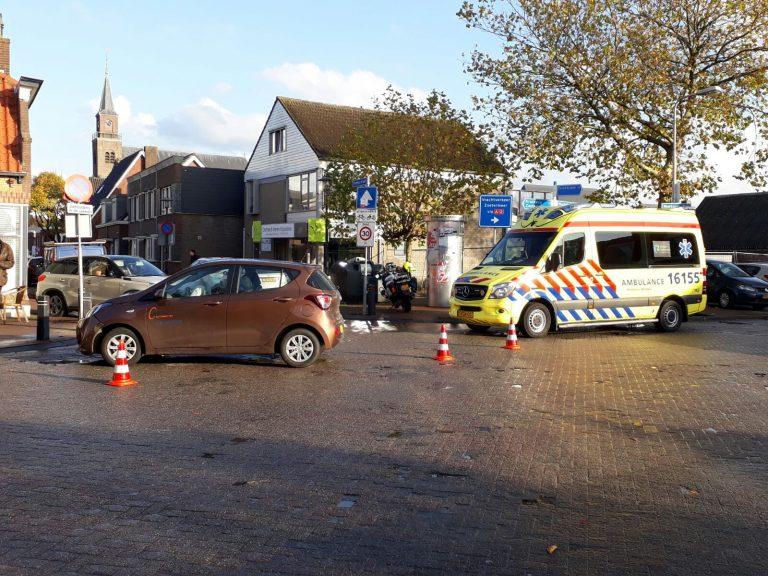 Dominee veroorzaakt ongeval op weg naar preekstoel